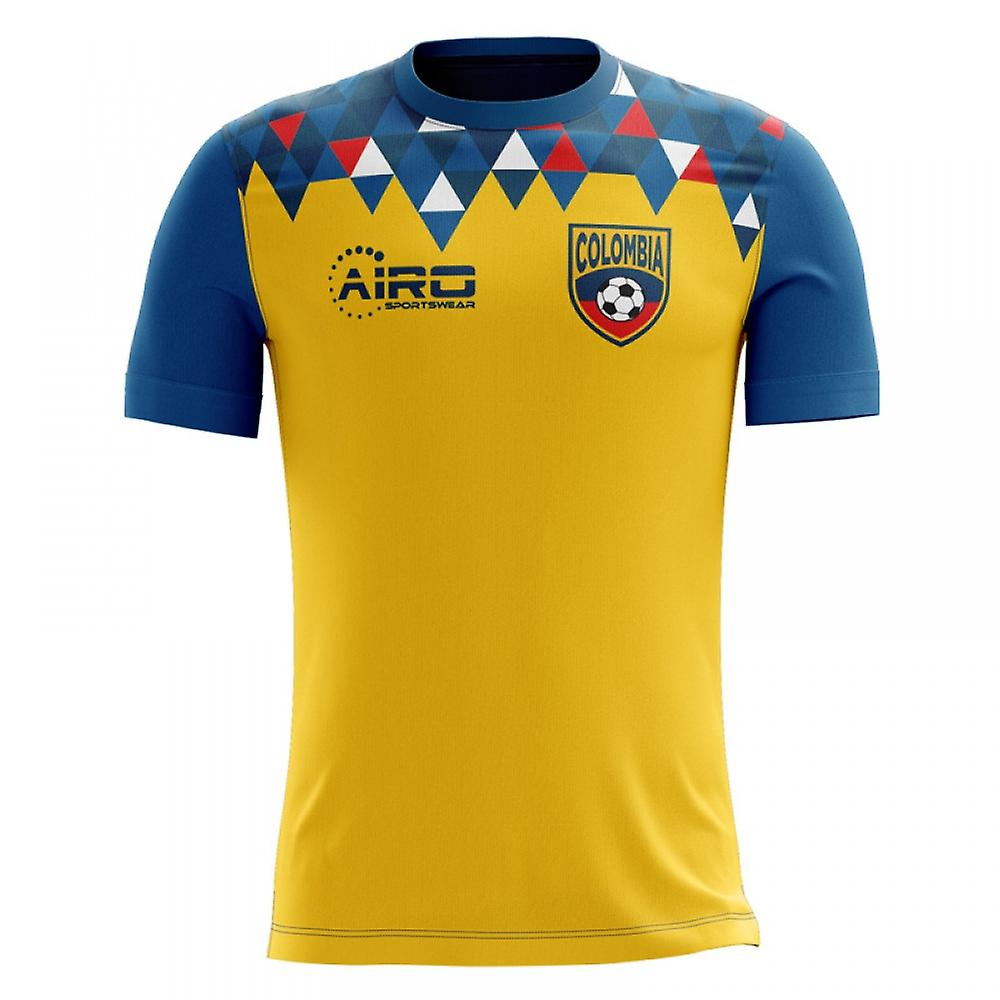3df20b9f4 2018-2019 Colombia Home Concept Football Shirt (Kids)