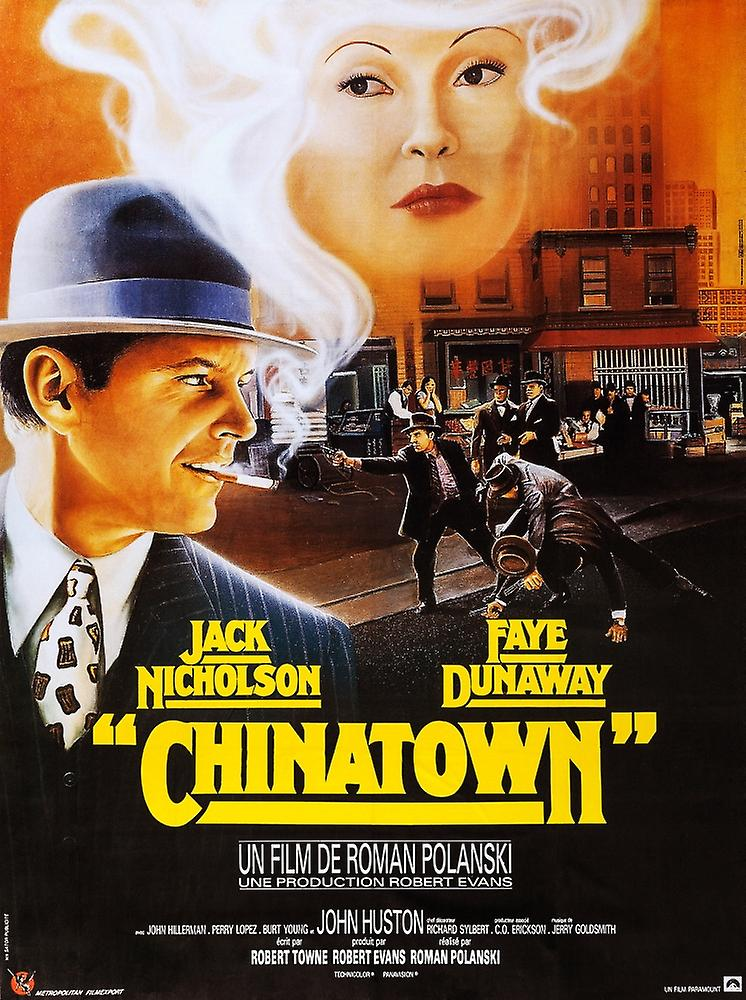 essay on chinatown movie Roman polanski's chinatown as a neo-noir film in regards to visual style and narrative structure since the decline of the original film noir movement, numerous directors have made attempts to revive it.