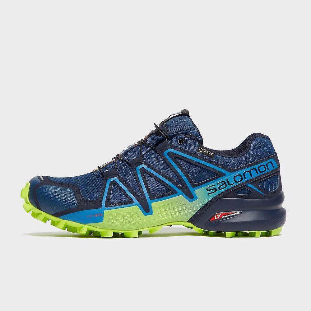 New Salomon Men's Speedcross 4 CS GTX Trail Running Shoes Blue