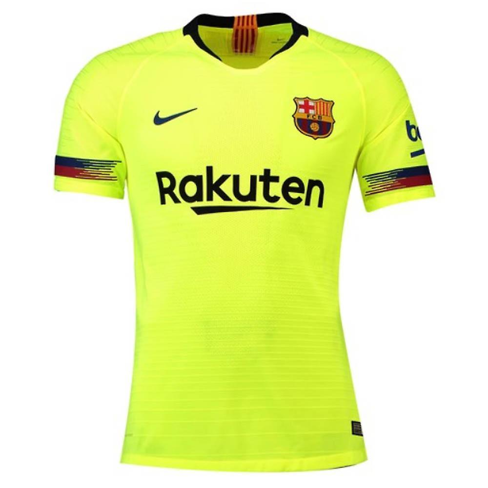 low priced 5873d bfc14 2018-2019 Barcelona Vapor Match Away Nike Shirt