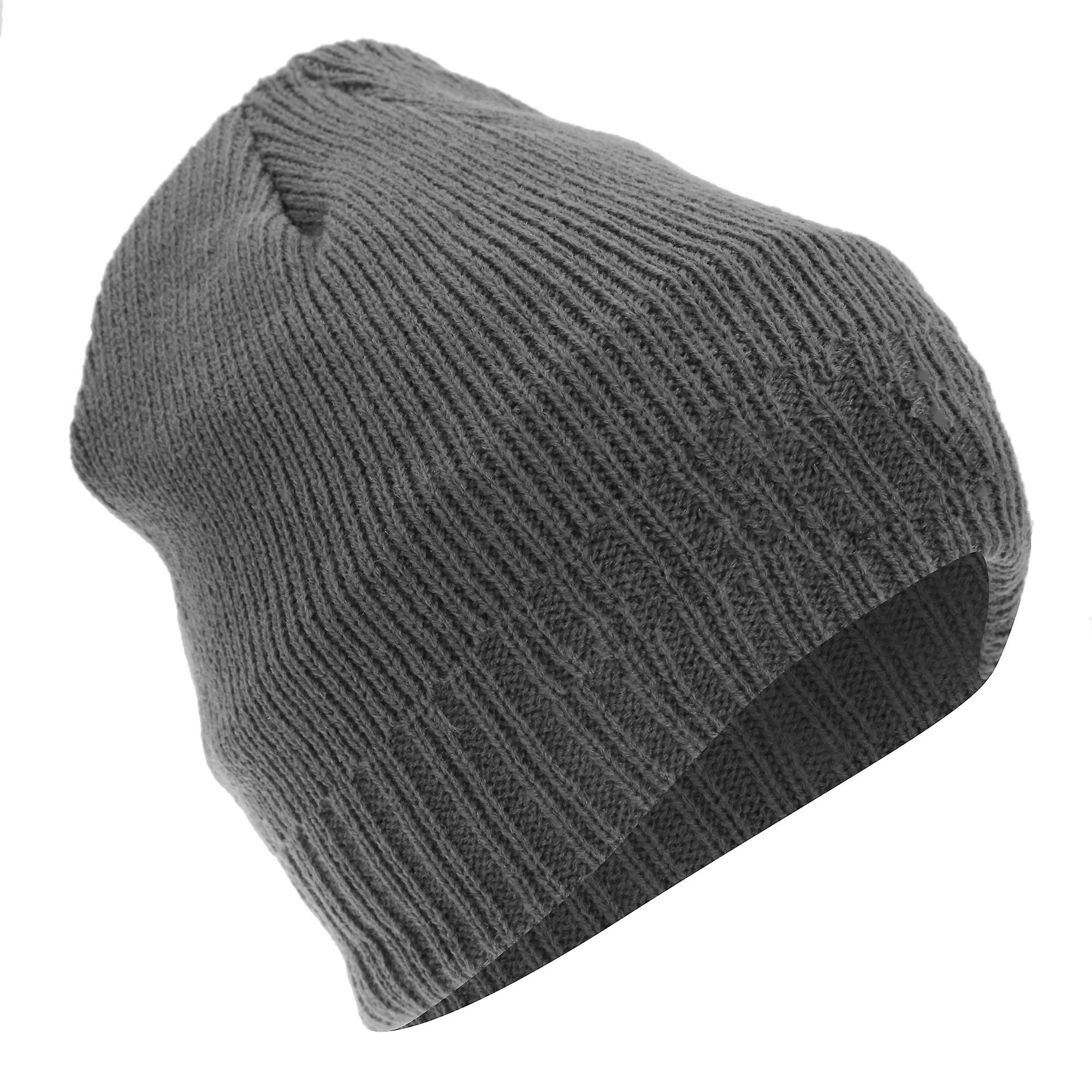 FLOSO Mens Thinsulate Knitted Thermal Beanie Winter Ski Hat With Inner  Lining (3M 40g 6fd7ea903957