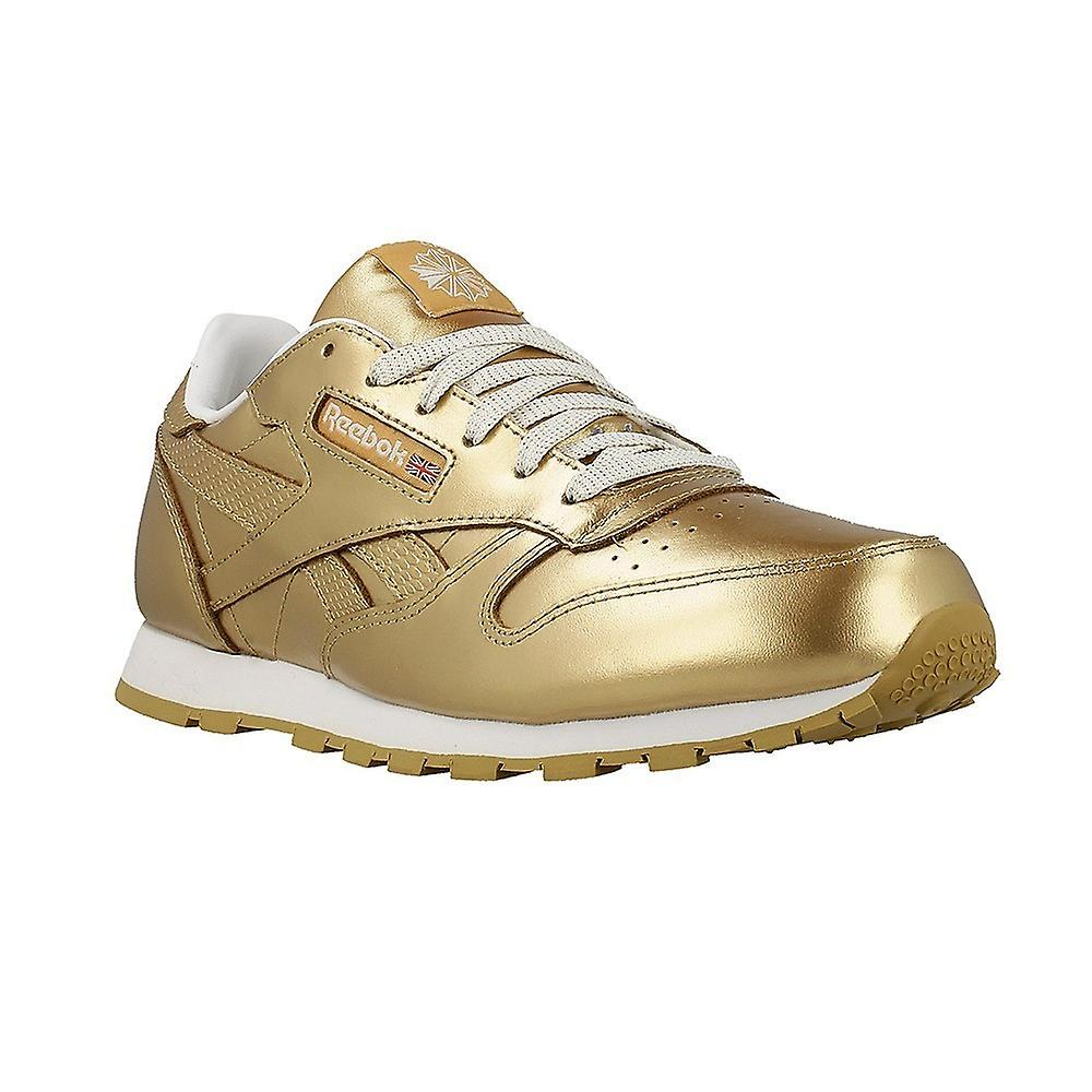 163652aa13f Reebok Classic Leather Metallic Brass BS8944 universal all year kids shoes