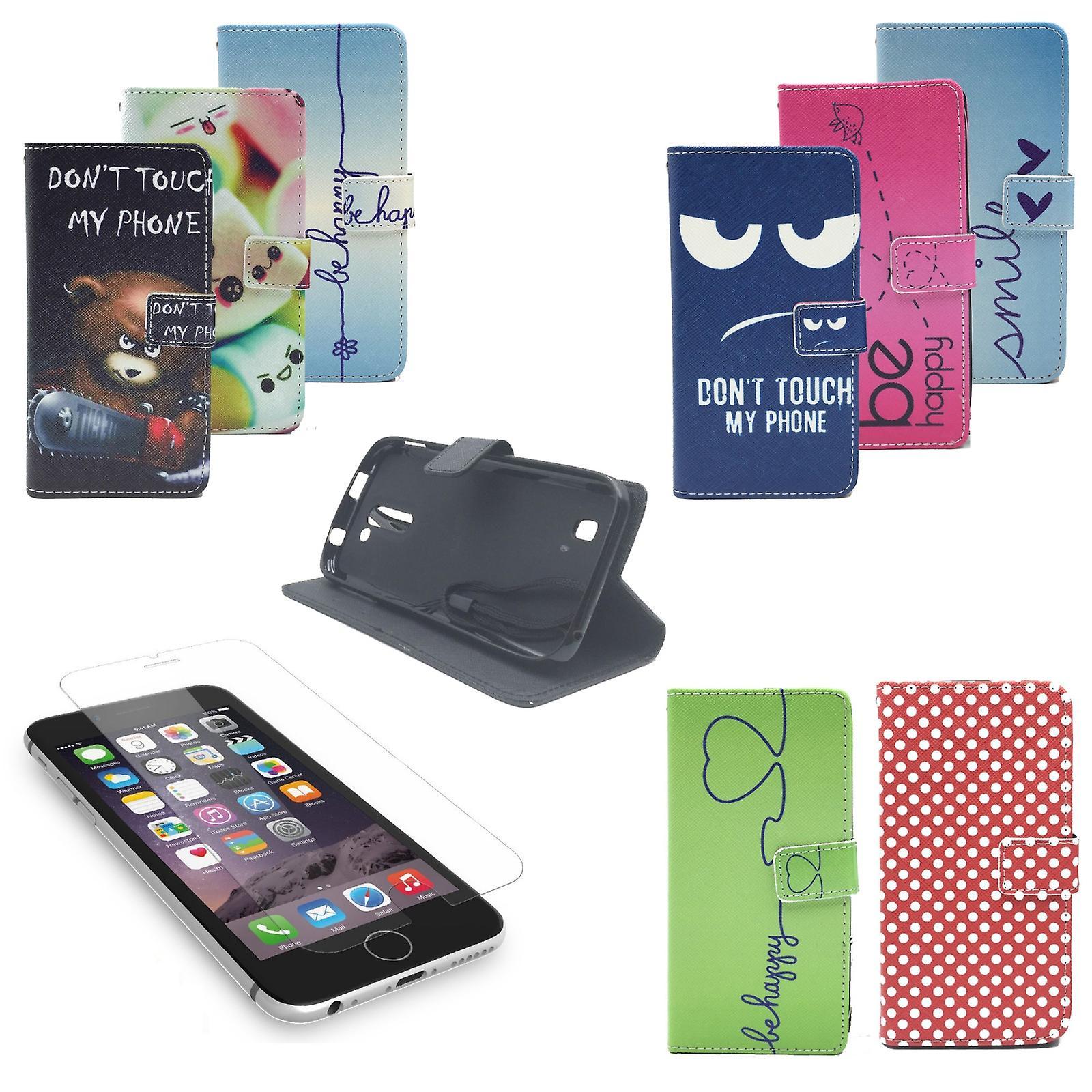 e3c7bea8d9e56 Handy Tasche für Apple Flip Cover Case Schutz Hülle Etui Schale Wallet  Bumper
