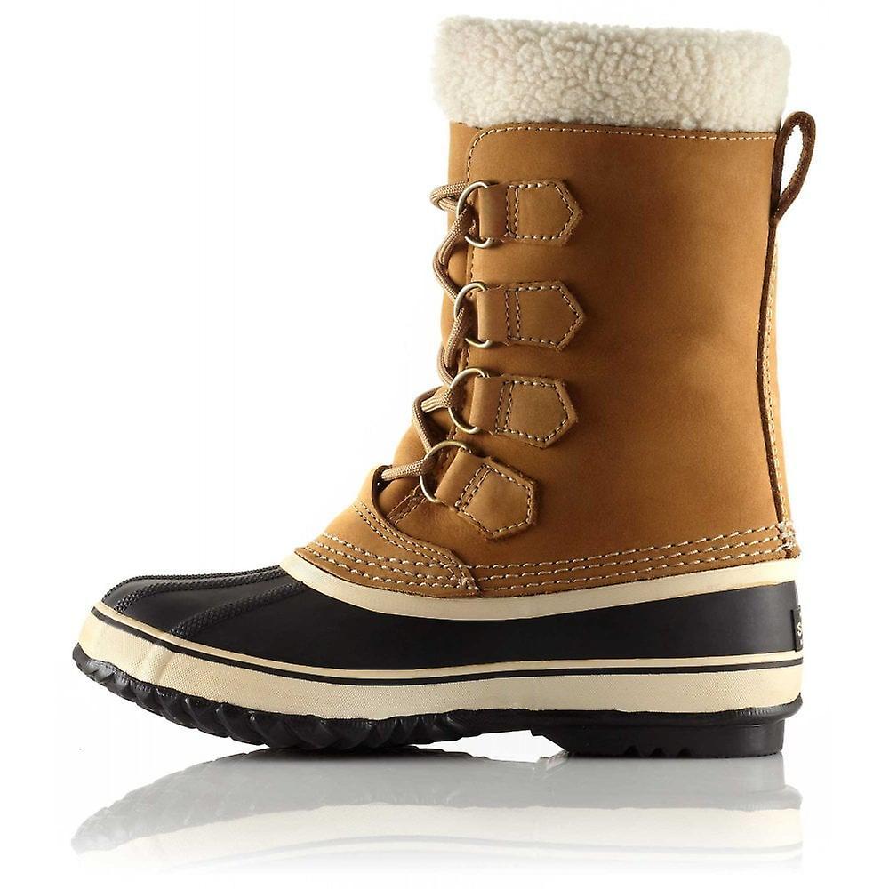 Kvinne dame jente australia høy ekte lær snø varm vinter trippel knapp støvler sko motorsykkel støvler