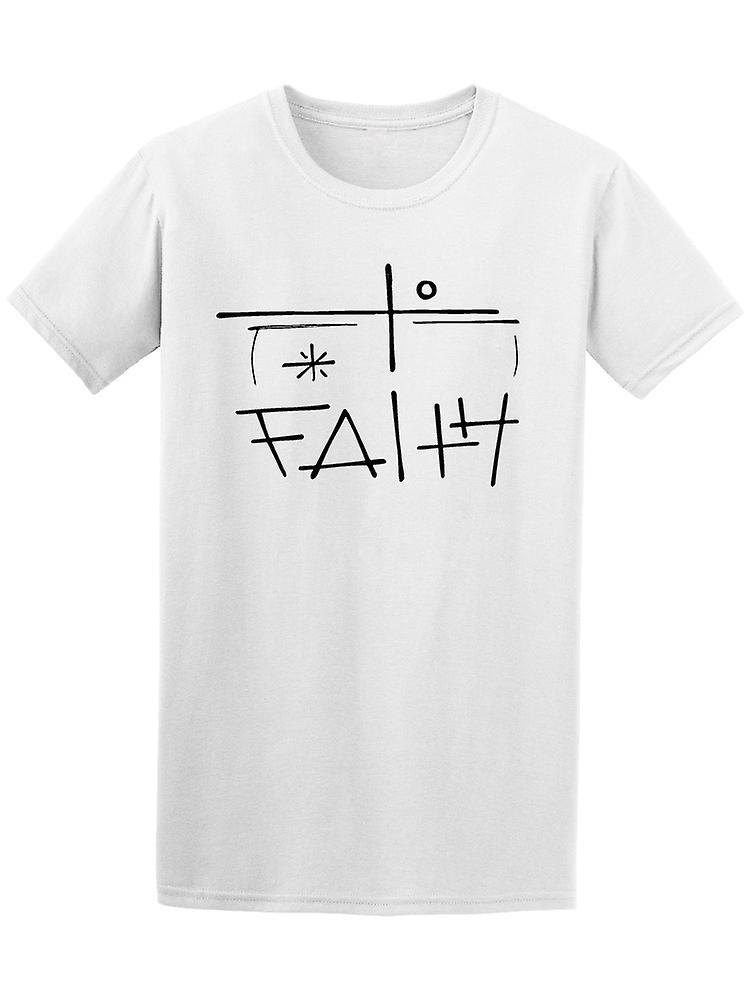 bf87cb266b4f0f Christian Faith religiöse Kreuz T-Shirt Herren-Bild von Shutterstock ...