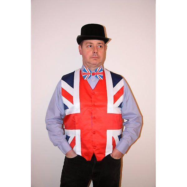 Union Jack Black Top Hat
