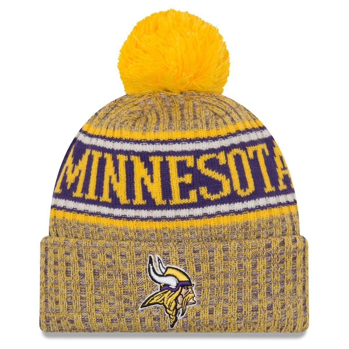 New era NFL sideline reverse Hat - Minnesota Vikings  d05b2f4a562