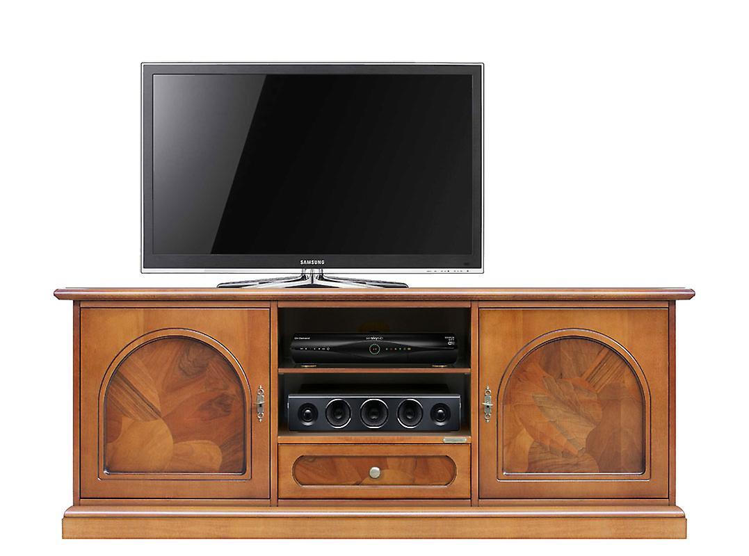 Mobile tv classico orizzontale con radica