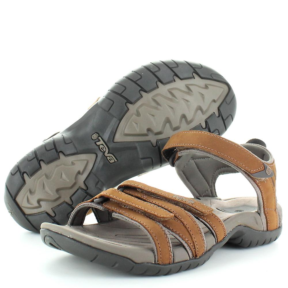 1e9eb500adcc Teva Womens Ladies Tirra Leather Cushioned Summer Walking Sandals ...
