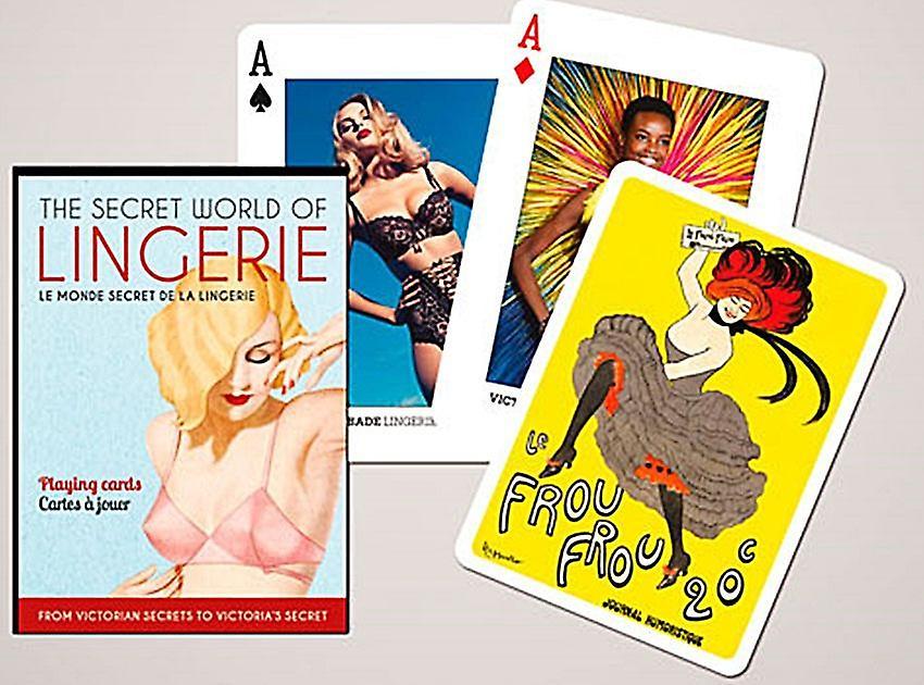 premium selection d2ef2 44b3a Geheimnisvolle Welt der Dessous Set 52 Spielkarten + Joker