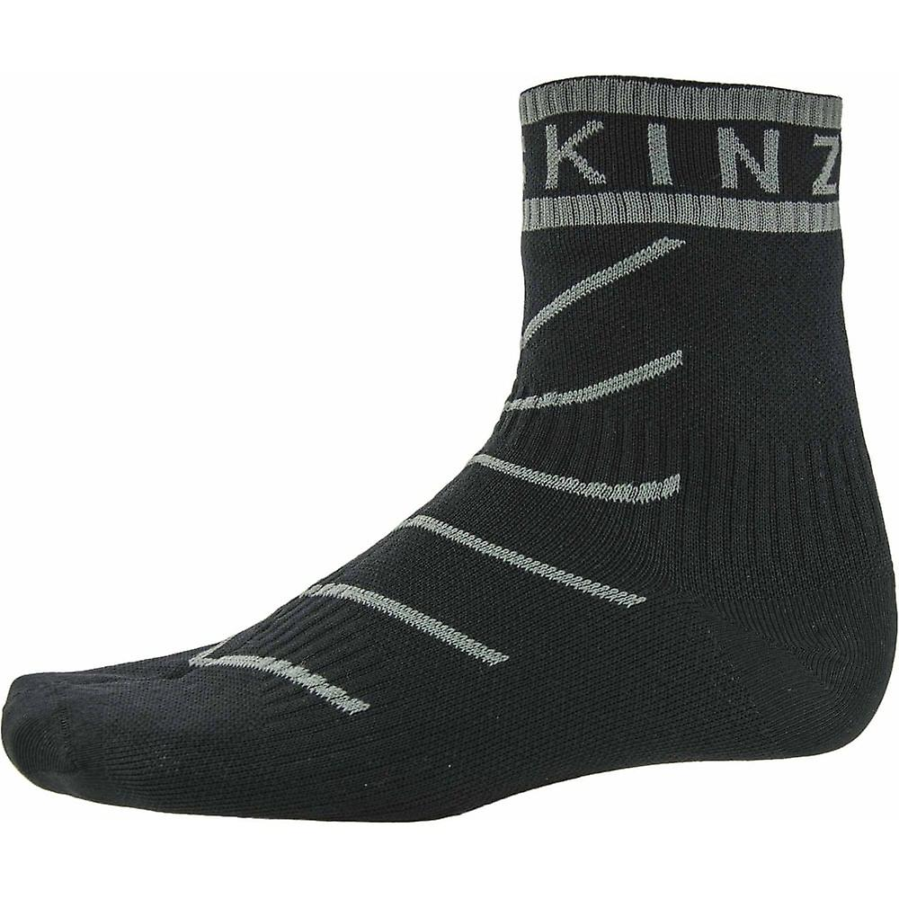 SealSkinz Super tynne Pro ankel sokk med Hydrostop sortgrå