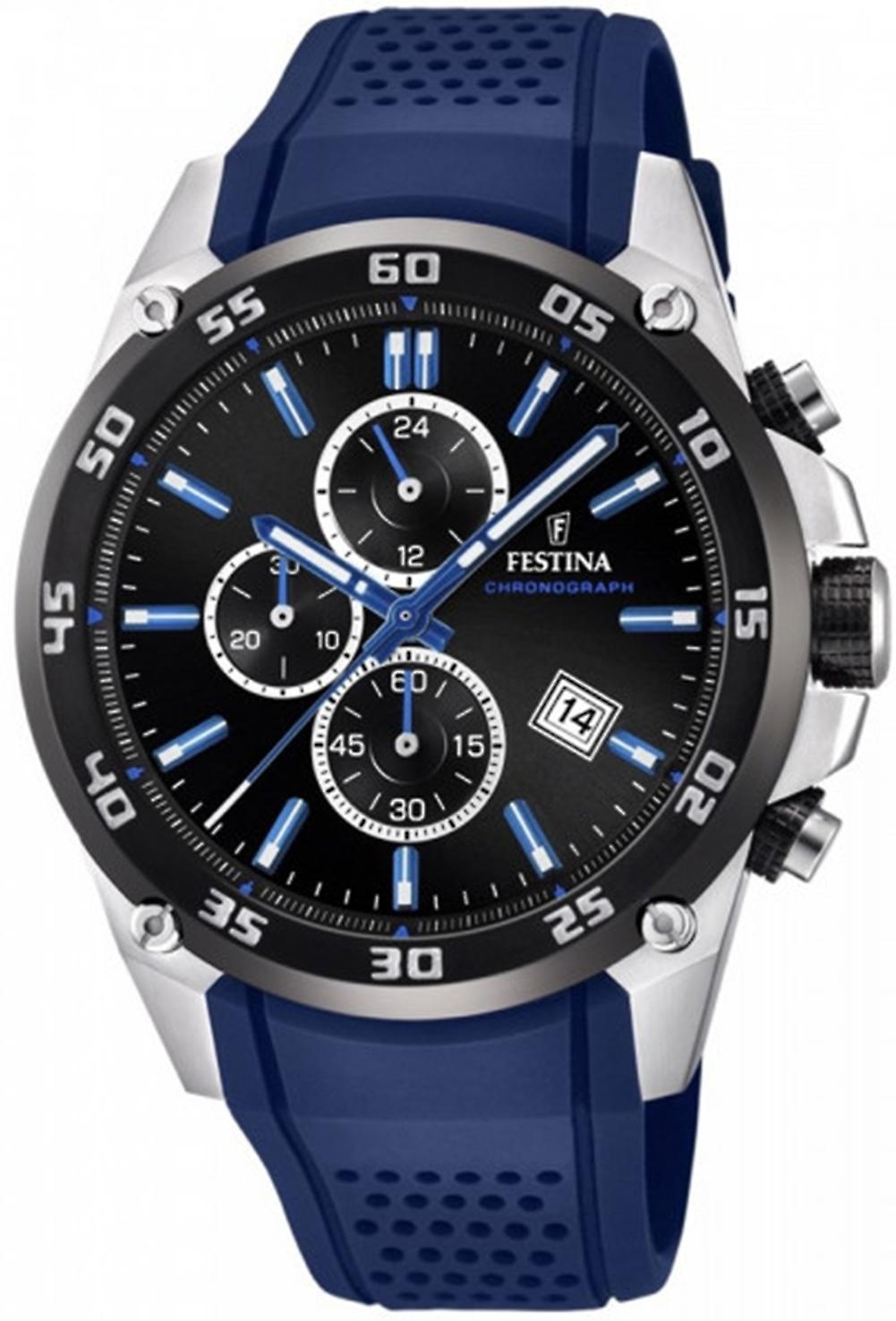 Festina Original Quartz Analog Man Watch with Silicone Bracelet F20330/8