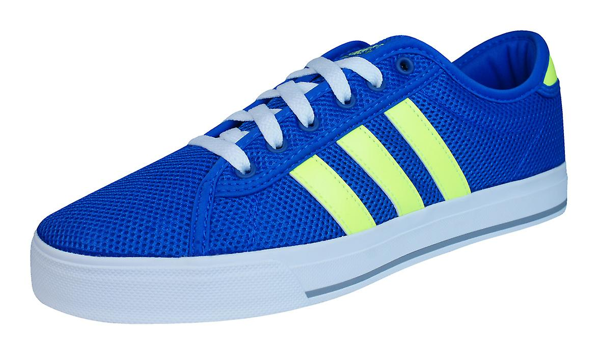Adidas Neo Daily Binden Herren Herren Trainer Schuhe Blau