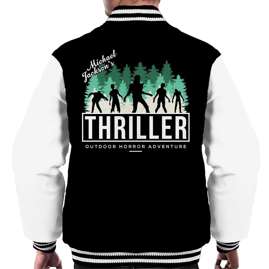 Michael Jackson Letterman Sweater Jacket This Is It Thriller