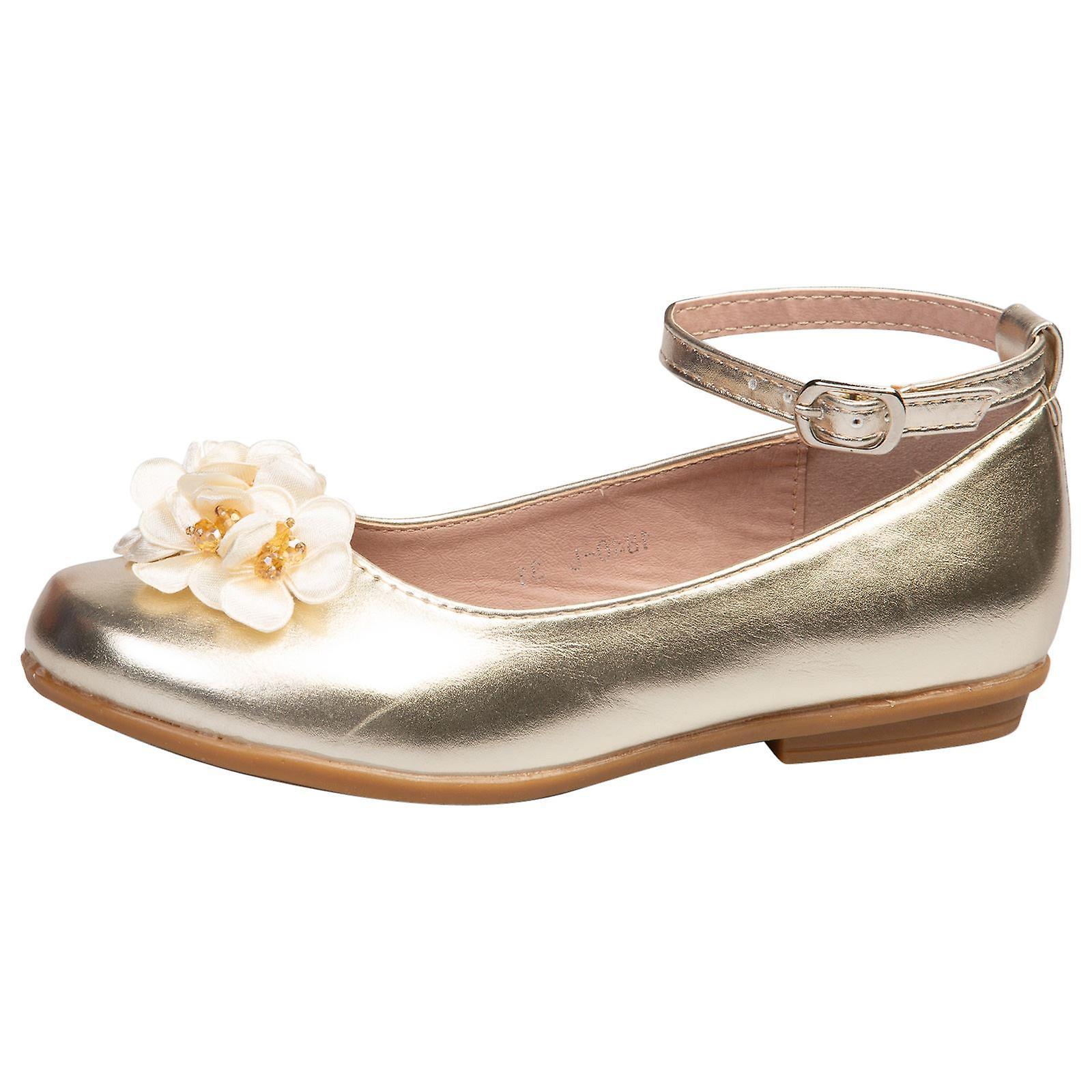 Nellie Mädchen Kinder flache Ballerina Schuhe