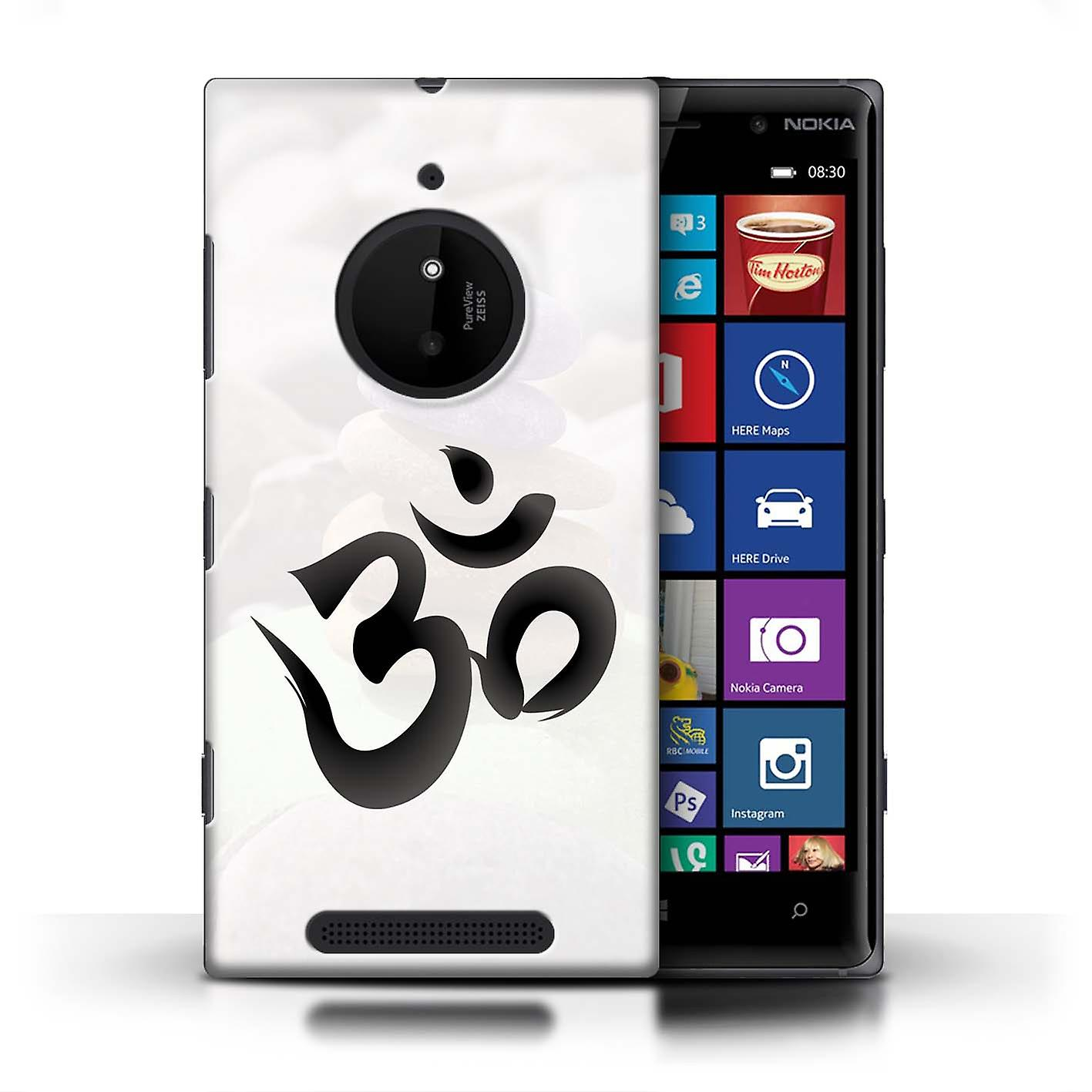 super popular 249bd 173aa STUFF4 Phone Case/Cover for Nokia Lumia 830 / OM Symbol Design / Inner  Peace Collection