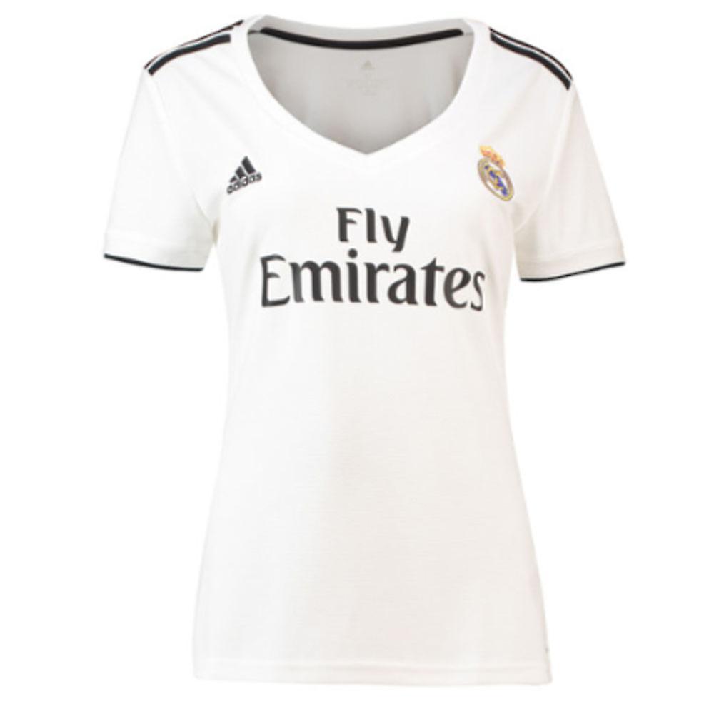 091d1d197fb 2018-2019 Real Madrid Adidas Womens Home Shirt   Fruugo