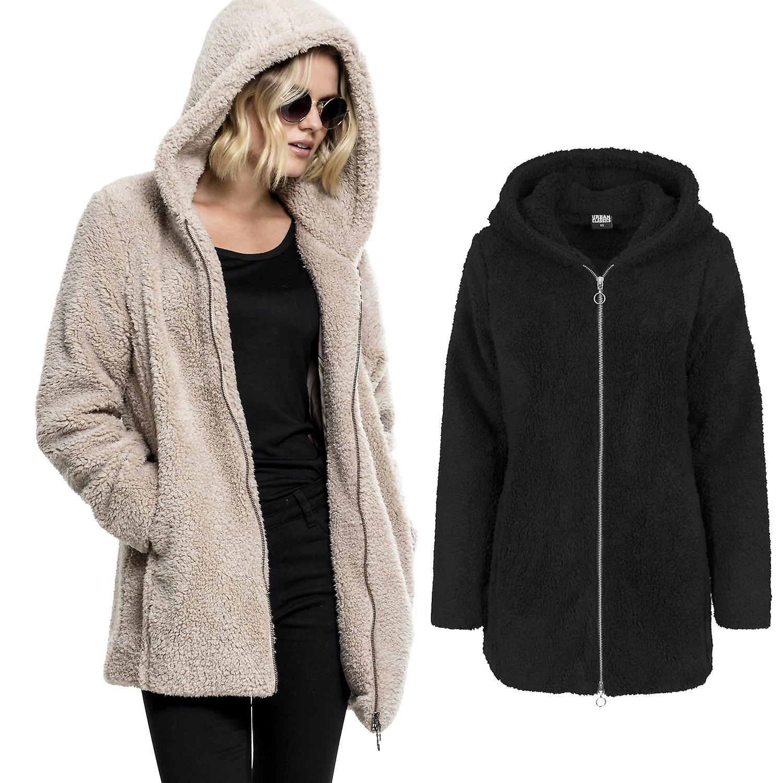 modische Muster einzigartiges Design heiße neue Produkte Urban Classics Ladies - SHERPA Long Hoody Winterjacke