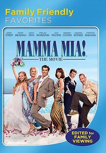 Mamma mia movie dvd