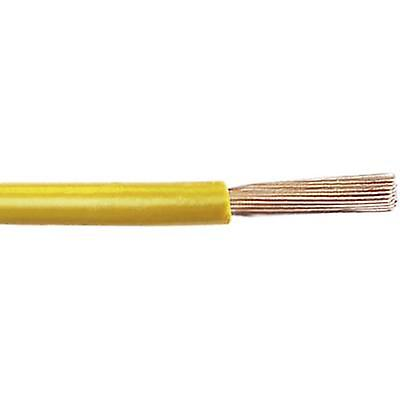 Leoni 76783021K111 Automotive wire FLRY-A 1 x 0 50 mm² Yellow Sold by the  metre