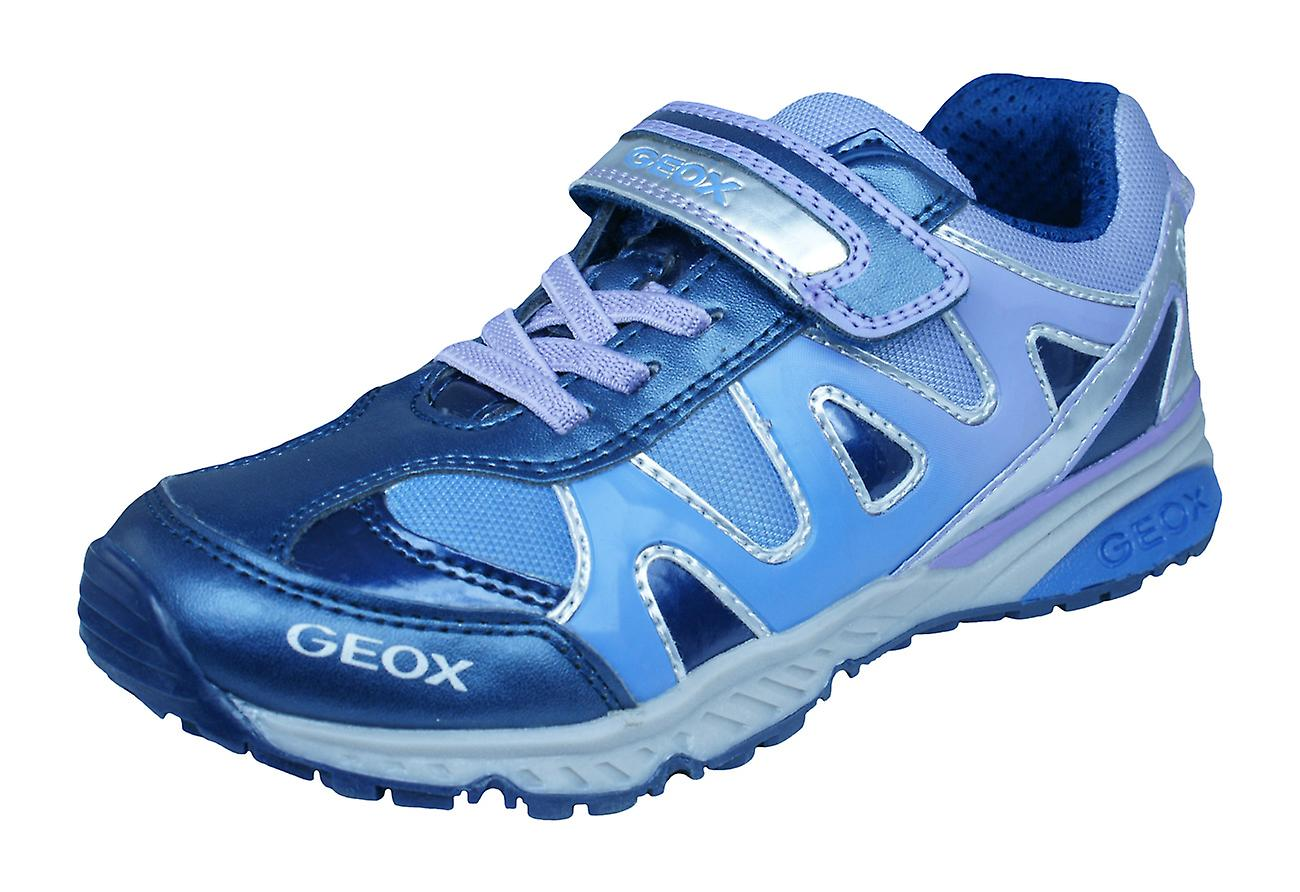 aae41cf0b4ac6 Geox J Bernie G.D Girls Trainers / Shoes - Navy and Lilac