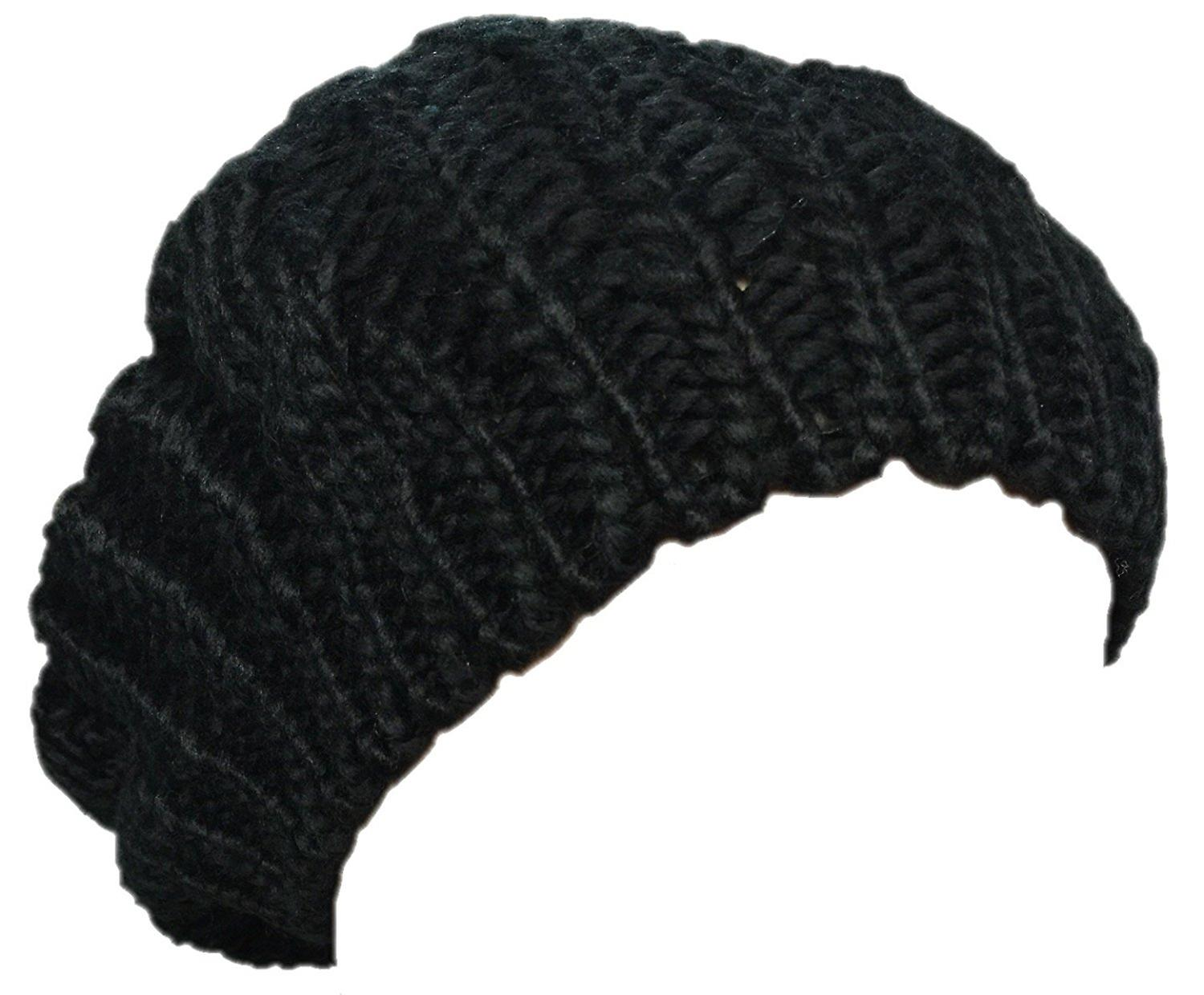 6738a594c7cab New Arrivals Lady Winter Warm Knitted Crochet Slouch Baggy Beret Beanie Hat  Cap