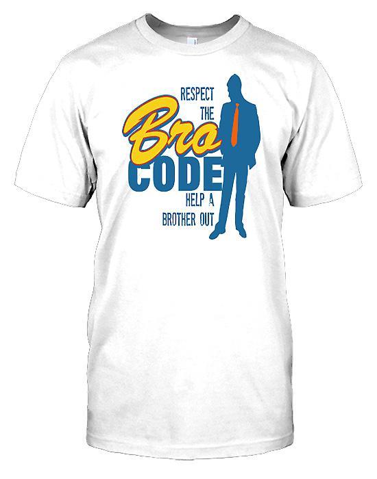 Respect The Bro Code Mens T-Shirt