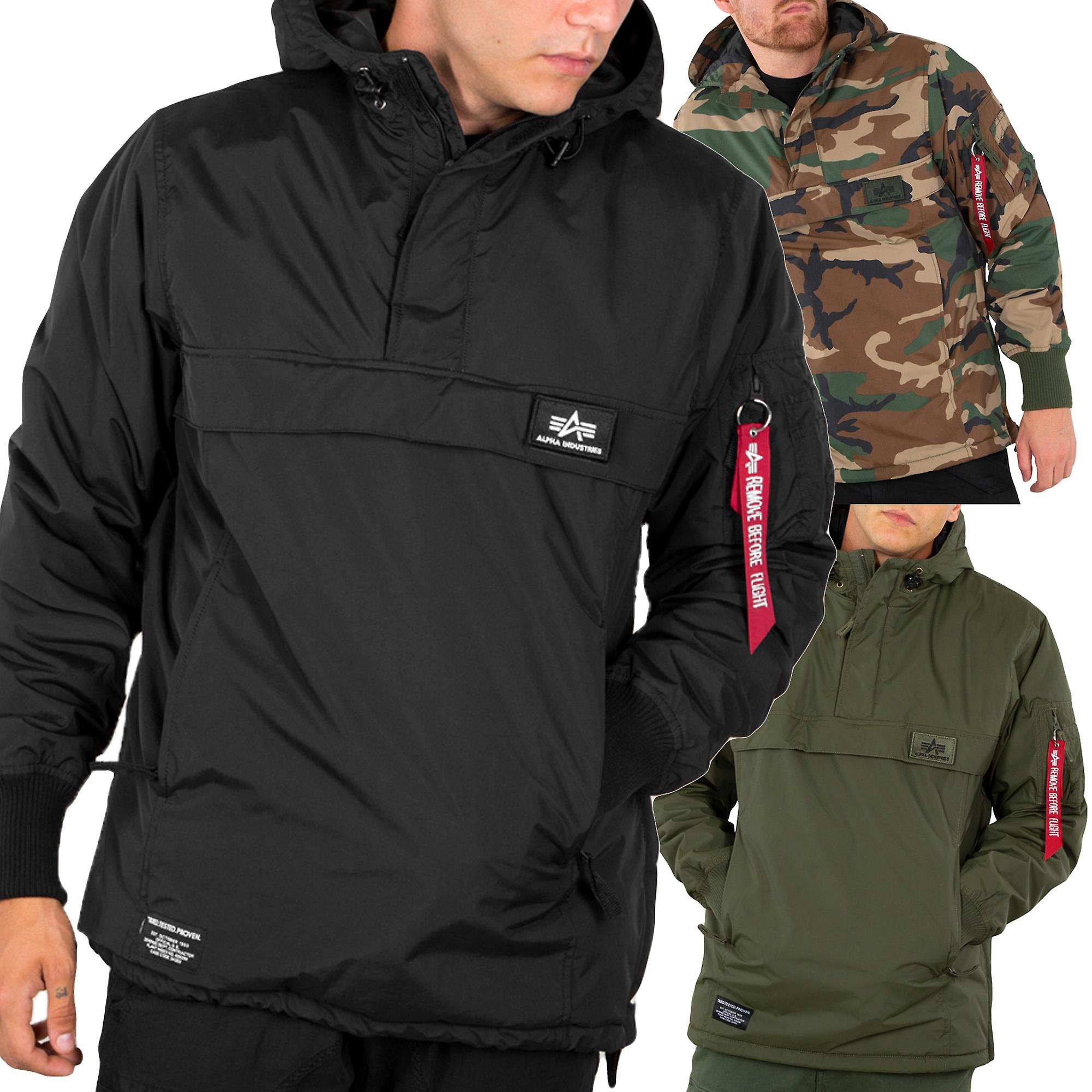 quality design 7a5f5 8cf3f Alpha industries men's winter jacket WP anorak