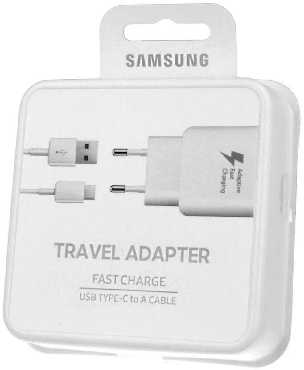 För Samsung Galaxy S8 S9 USB C adaptiv laddare färg: vit
