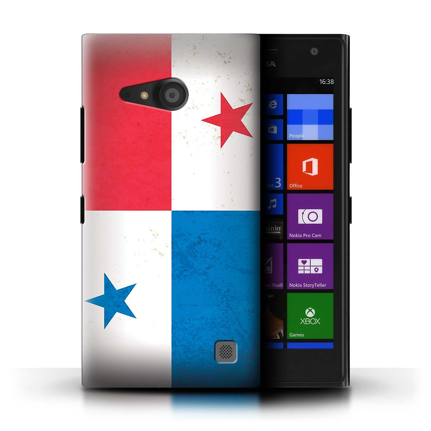 wholesale dealer a6f81 07c92 STUFF4 Phone Case/Cover for Nokia Lumia 735 / Panama/Panamanian Design /  Americas Flag Collection