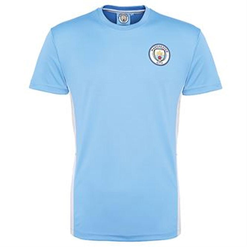 wholesale dealer c9a3e 76549 Official Man City Training Jersey (Sky Blue)