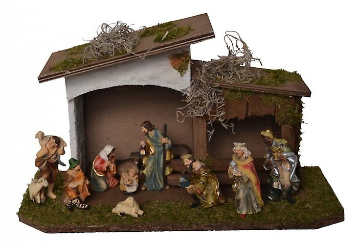 4c0643af64c Natividad Navidad madera Belén pesebre Navidad natividad estable ...