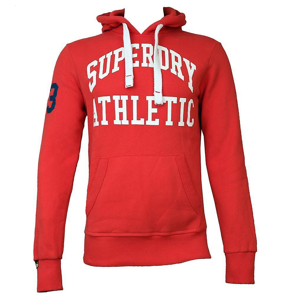 huge discount 2c6b4 8c8ee Superdry Mens Tigers Athletic Hoodie Indiana