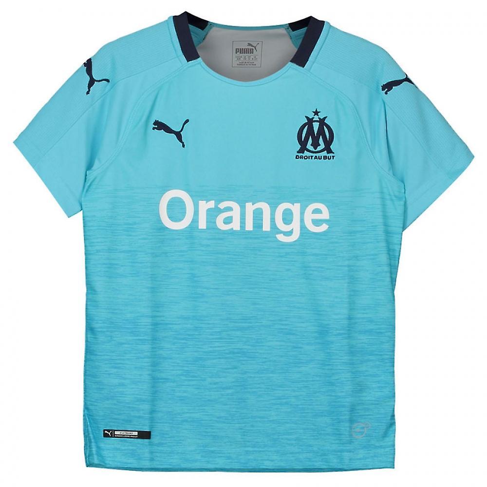 best sneakers 1411a 2f871 2018-2019 Olympique Marseille Puma Third Football Shirt (Kids)