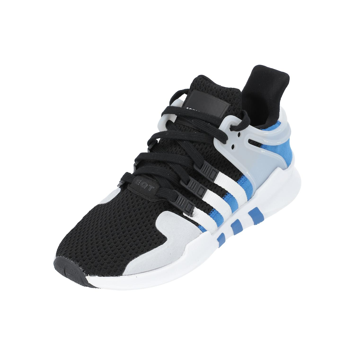 online store 67b3a 41159 adidas Originals EQT SUPPORT ADV Unisex Sneakers Low Shoes Black NEW OVP