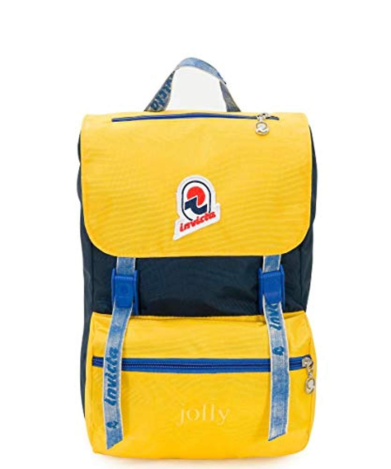 detailed images great fit official photos Invicta Backpack Jolly Vintage S Casual Backpack - 33 cm - 15 liters -  Yellow