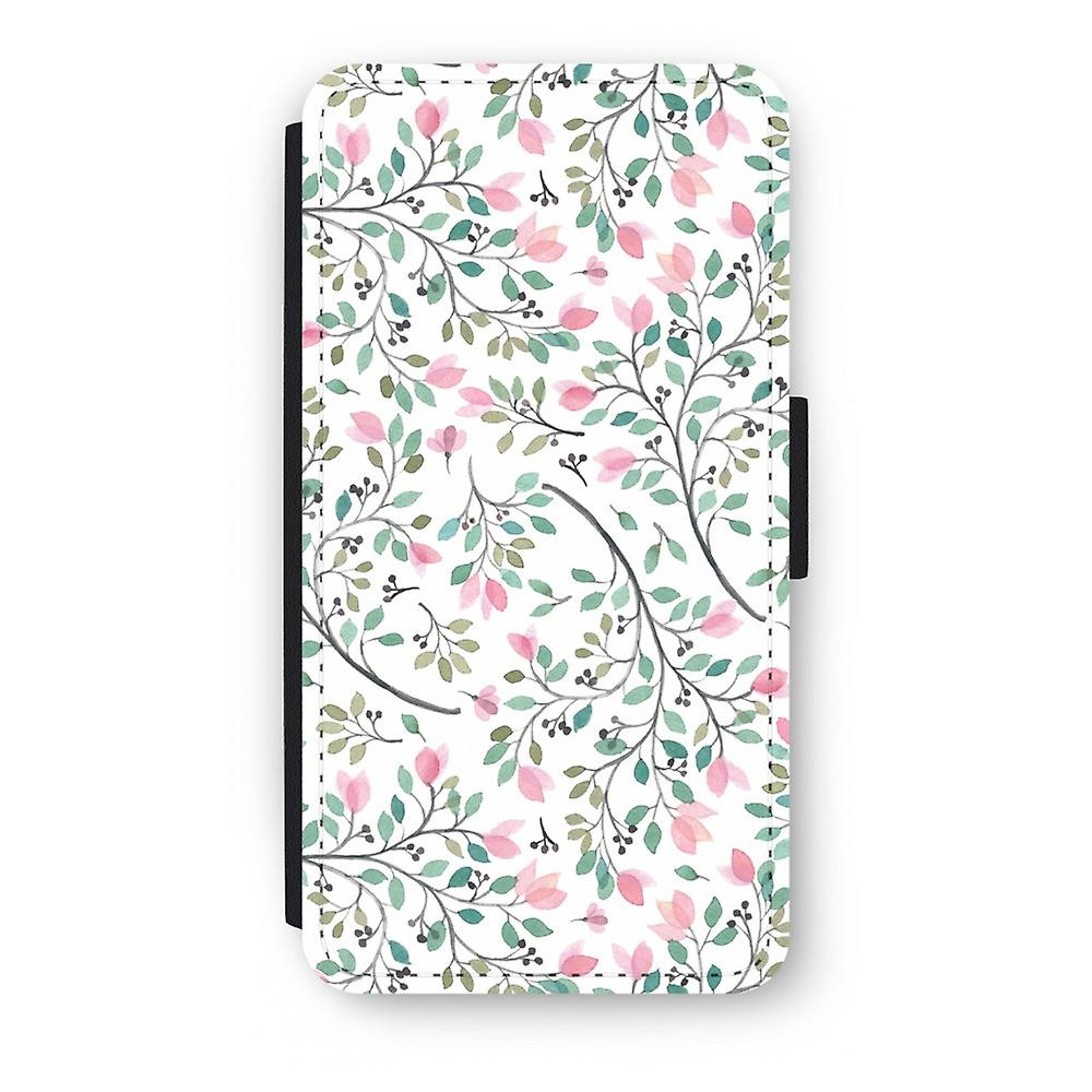 promo code 2e1ad 31843 iPod Touch 6 Flip Case - Dainty flowers