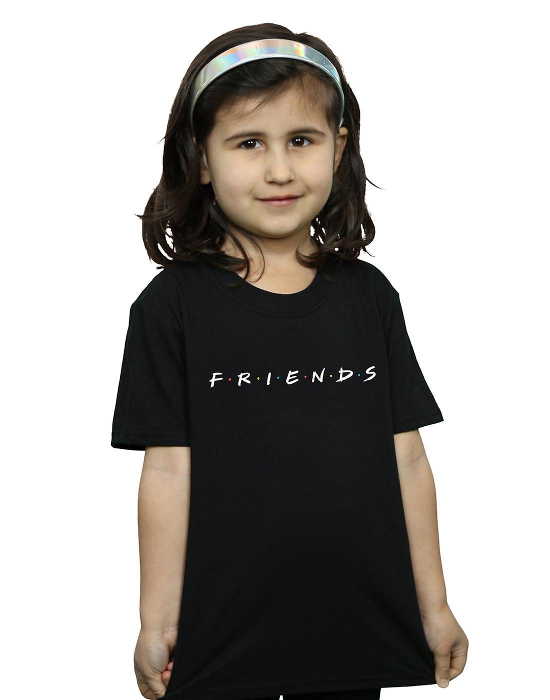 b2f2a5b5 Venner jenter tekst Logo t-skjorte | Fruugo