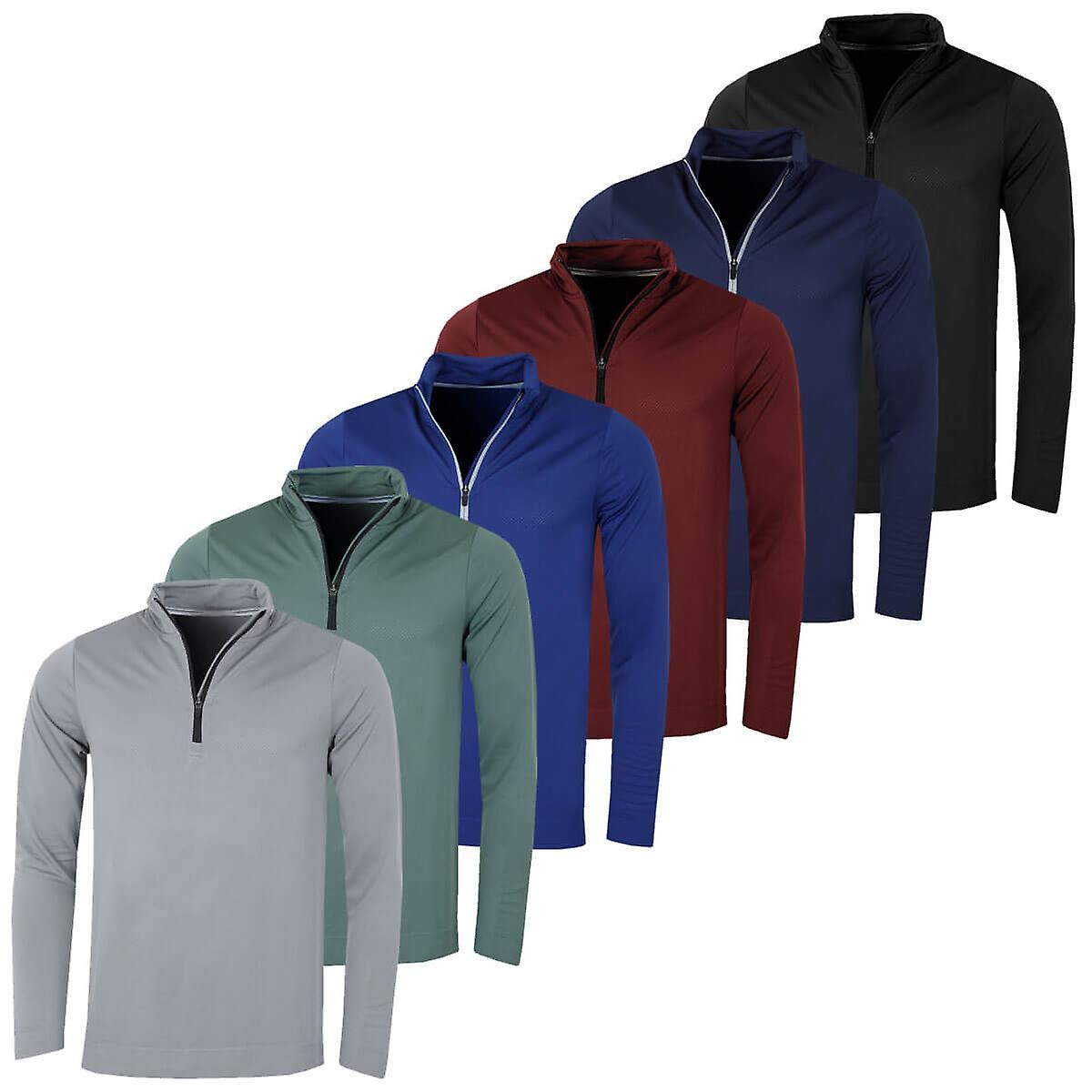 f6e77e73f Puma Golf Mens Essential Evoknit 1/4 Zip Sweater