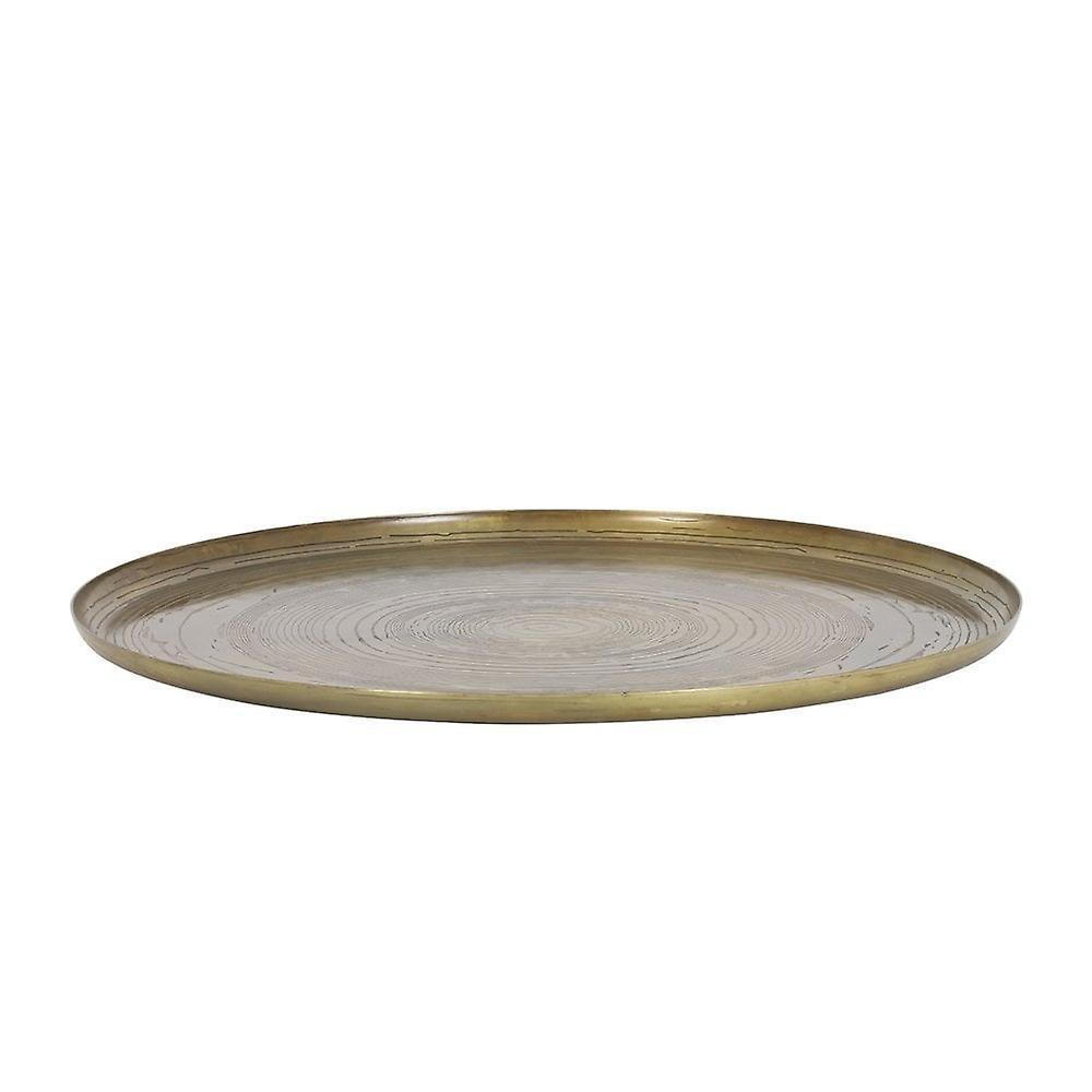 Light & Living Dish 60x2cm Mato Thrunk Antique Bronze