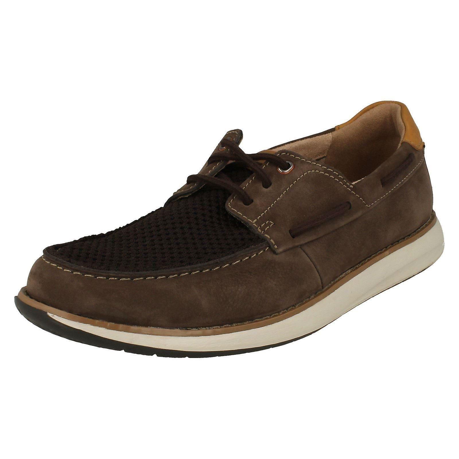 f8f257c5 Mens Clarks Unstructured Deck Shoes Un Pilot Lace | Fruugo