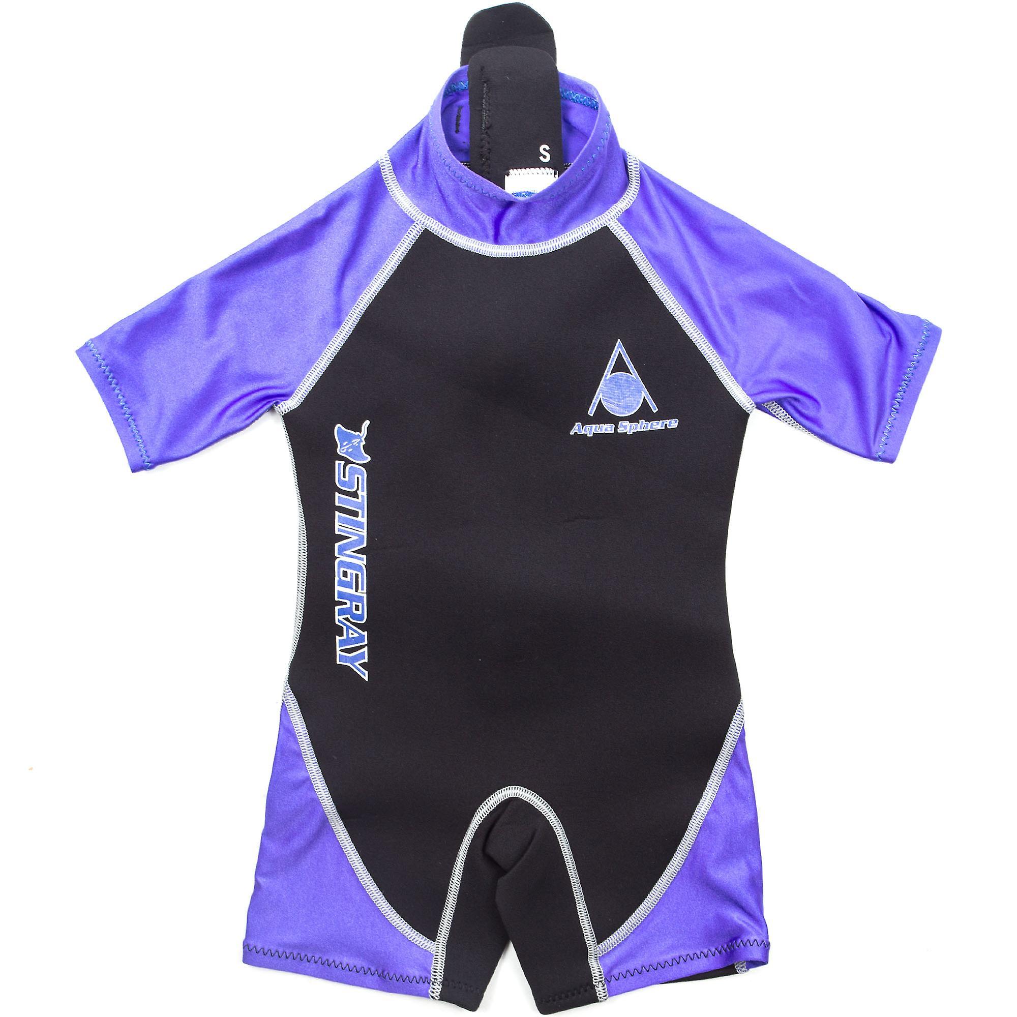 última moda muy elogiado fina artesanía Esfera Aqua Stingray 2mm neopreno Shorty natación traje de baño niños
