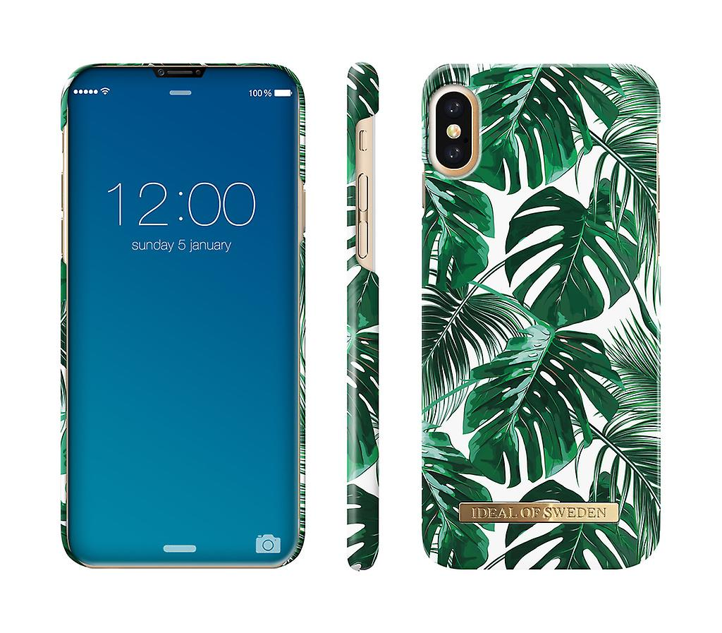 low priced 641a0 9e127 ideals Of Sweden Case IPhone X/XS-Monstera Jungle