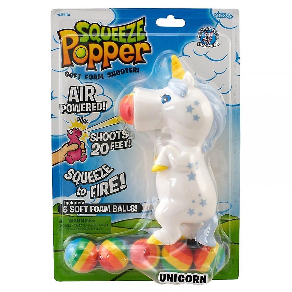 Cheatwell Juegos Unicornio Squeeze Popper Shooter Espuma Suave