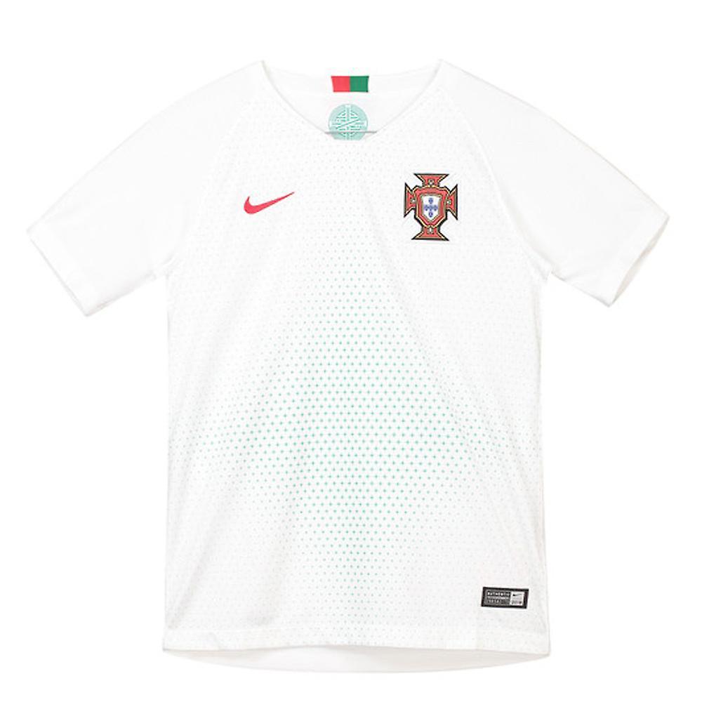 sports shoes e96de 1d5ea 2018-2019 Portugal Away Nike Football Shirt (Kids)