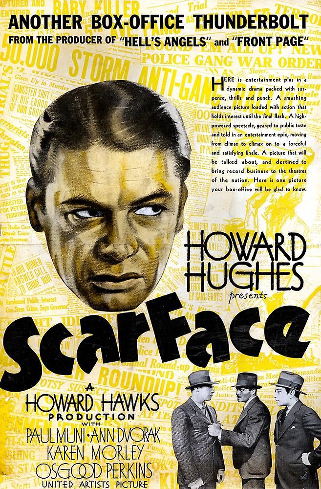 Original scarface movie poster