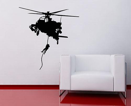 Army Helicopter V2 Wall Sticker Fruugo