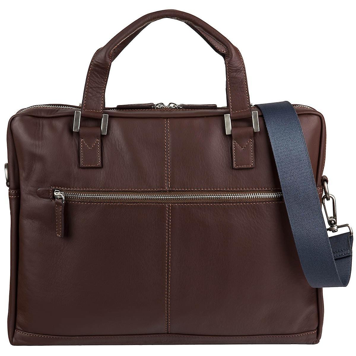 Bugatti Manhattan läder business väska portfölj 491111  1c79e25262499
