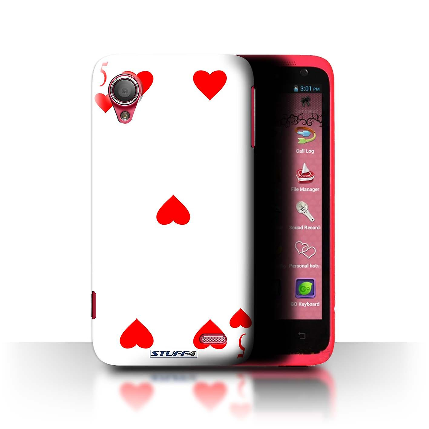 STUFF4 Case/Cover for Lenovo S720/5 of Hearts/Playing Cards