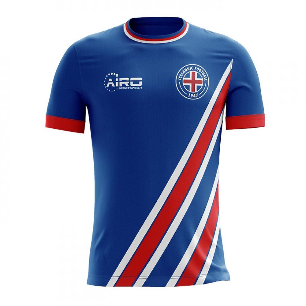 366b5cb69 2018-2019 Iceland Home Concept Football Shirt (Kids)